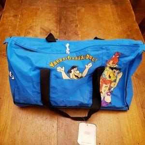 Vintage 90's Flintstones duffle bag